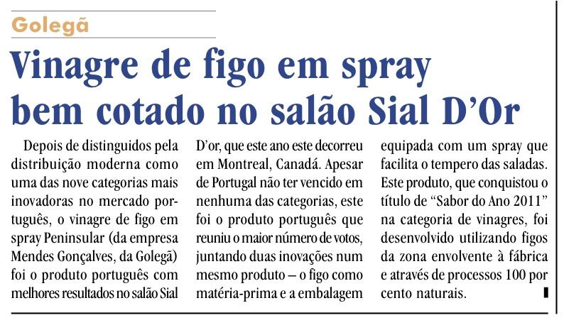 Vinagre de Figo - SIAL D'OR